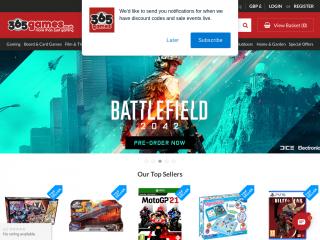 365games.co.uk screenshot