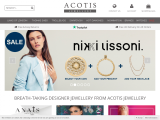 acotisdiamonds.co.uk screenshot