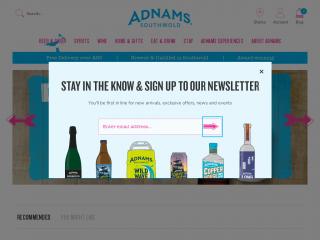 adnams.co.uk screenshot