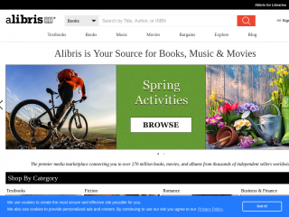 alibris.co.uk screenshot