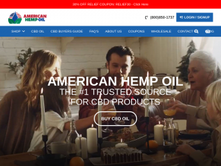 americanhempoil.net screenshot