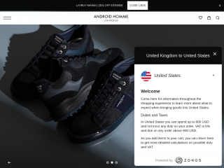 androidhomme.co.uk screenshot