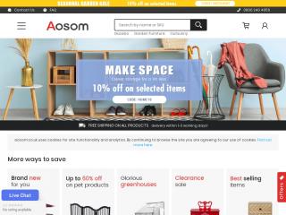 aosom.co.uk screenshot