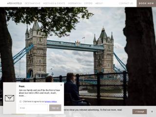 apexhotels.co.uk screenshot