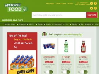 approvedfood.co.uk screenshot