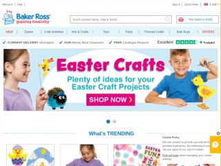 bakerross.co.uk screenshot