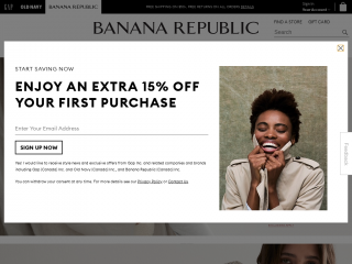 bananarepublic.gapcanada.ca screenshot