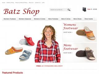 batzshop.co.uk screenshot