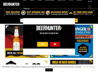 beerhunter.co.uk screenshot