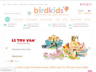 birdkids.co.uk screenshot