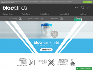 blocblinds.co.uk screenshot