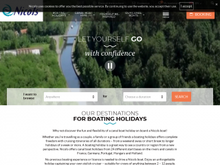 boat-renting-nicols.co.uk screenshot