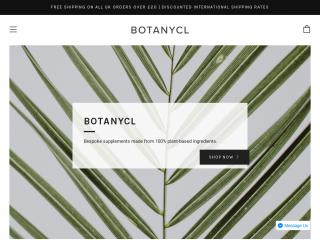 botanycl.co.uk screenshot