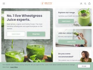 brittsuperfoods.co.uk screenshot