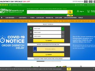 buycarparts.co.uk screenshot