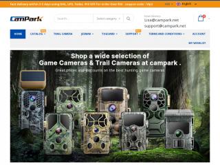 campark.net screenshot