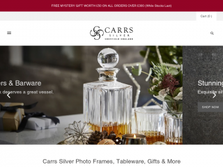 carrs-silver.co.uk screenshot