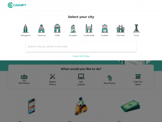 cashify.in screenshot