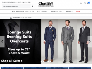 chatleys.co.uk screenshot