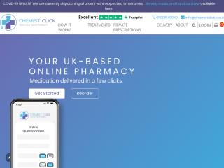 chemistclick.co.uk screenshot
