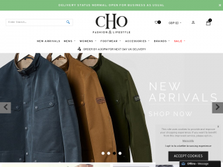 cho.co.uk screenshot