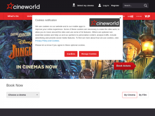 cineworld.co.uk screenshot