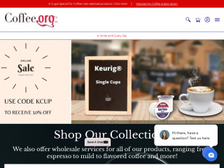coffee.org screenshot