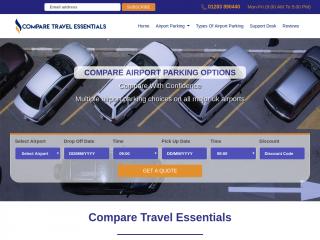 comparetravelessentials.co.uk screenshot