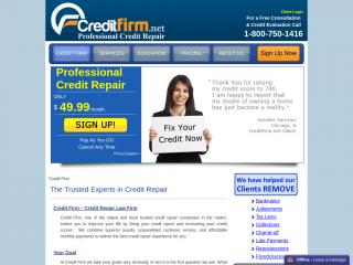 creditfirm.net screenshot
