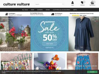 culturevulturedirect.co.uk screenshot