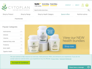 cytoplan.co.uk screenshot