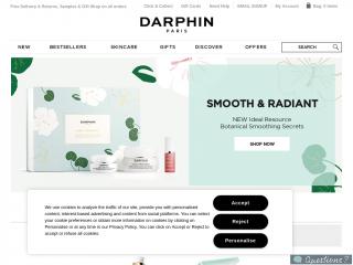 darphin.co.uk screenshot