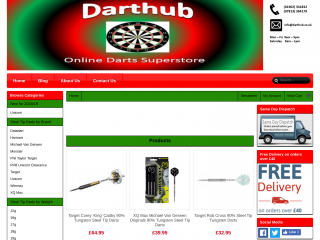 darthub.co.uk screenshot