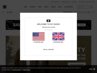 dcshoes-uk.co.uk screenshot