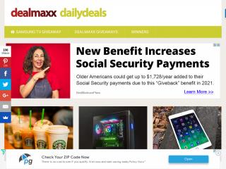 dealmaxx.net screenshot