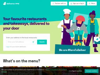 deliveroo.hk screenshot