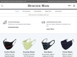 designermask.co.uk screenshot