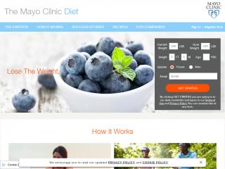 diet.mayoclinic.org screenshot