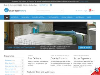 divancentre.co.uk screenshot