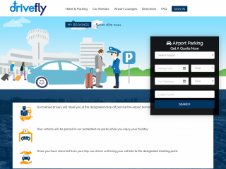 drivefly.co.uk screenshot