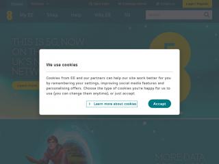 ee.co.uk screenshot