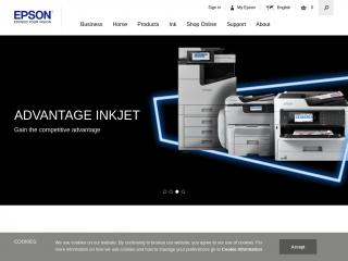 epson.co.uk screenshot