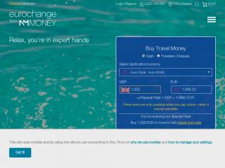 eurochange.co.uk screenshot