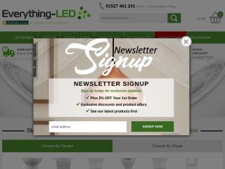 everything-led.co.uk screenshot