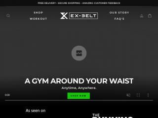 exbelt.co.uk screenshot