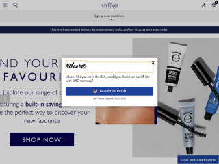 eyeko.co.uk screenshot