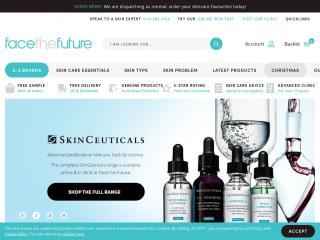 facethefuture.co.uk screenshot