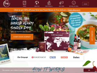 feastbox.co.uk screenshot
