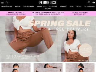 femmeluxefinery.co.uk screenshot