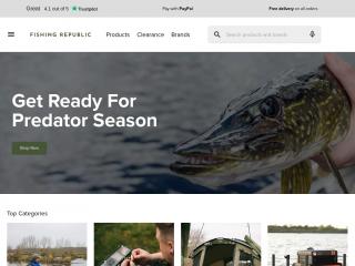 fishingrepublic.co.uk screenshot